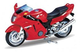1/18 Welly Масштабная модель мотоцикла Honda CBR1100XX