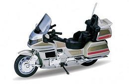 1/18 Welly Масштабная модель мотоцикла Honda Gold Wing