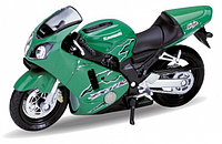 1/18 Welly Kawasaki Ninja ZX-12R 2001
