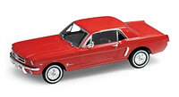 1/24 Welly Ford Mustang 1964