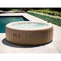 Intex СПА-бассейн Bubble Massage 165/216х71см, круглый с круговым пузырьковым массажем