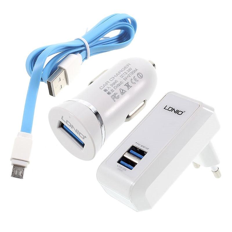 Зарядное устройство LDNIO 3 in 1 S100