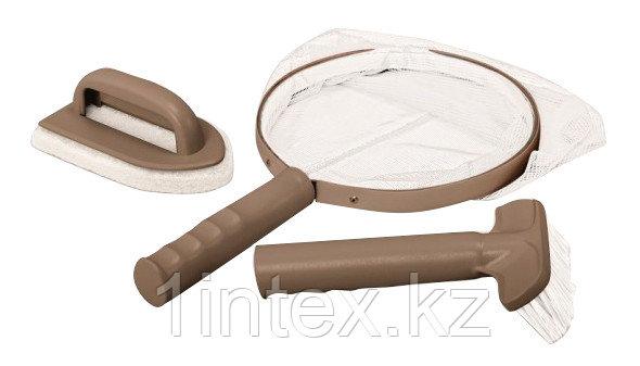 Intex Набор для чистки СПА-бассейнов, сачок, щетка, скребок вотерлинии