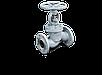 Клапан запорный стальной фланцевый РУ25 15с18нж, фото 4