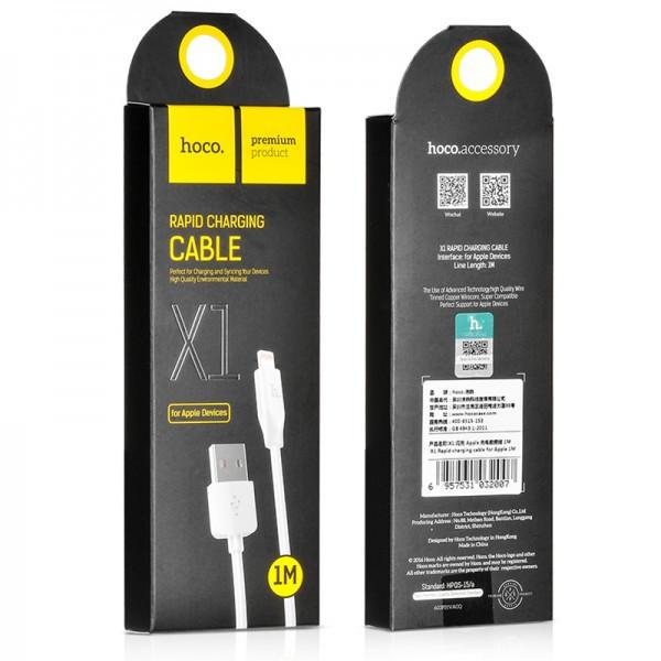 Кабель HOCO X1 iPhone Lightning Cable 1M