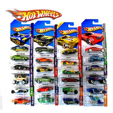 Модельки Hot Wheels, Mattel, Малайзия, фото 2