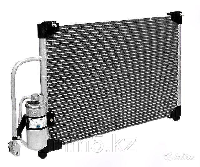 Радиатор кондиционера Porsche Cayenne. 955 2002-2007 3.0TDi Дизель