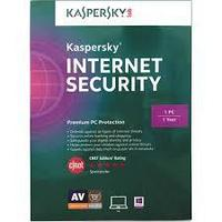 Kaspersky Interner Security 1 год на 2 ПК