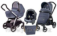 КОЛЯСКА 3 В 1 PEG-PEREGO PLUS SET MODULAR POP UP BLUE DENIM
