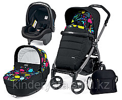 КОЛЯСКА 3 В 1 PEG-PEREGO BOOK PLUS SET MODULAR POP UP (MANRI)