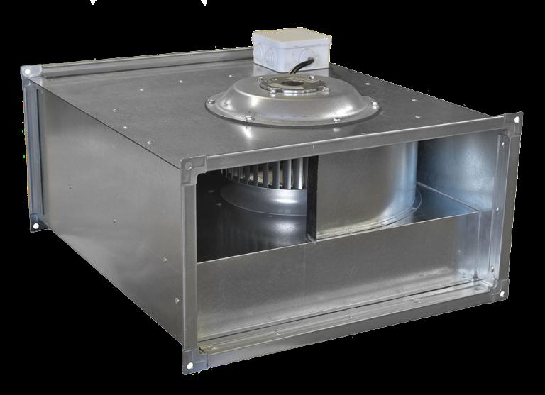 Вентилятор канальный  прямоугольный VCP 70-40/35-GQ/6D