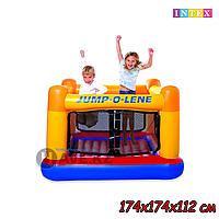 Надувной игровой центр-батут Intex Jump-o-lene 48260 174х174х112см