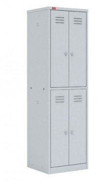 Шкаф для одежды металлический ШРМ - 24 (1860х600х500 мм), фото 2