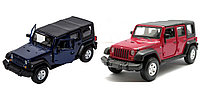Модель машины Jeep Wrangler Unlimited Rubicon, 1:32
