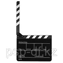 Directors Acrylic Film Movie Cut Action Scene Clapper Board (ХЛОПУШКА)