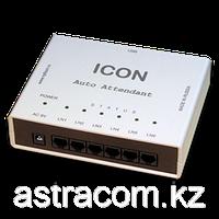 ICON AA456USB, Автосекретарь+ голосовая почта, 6 линий,120 часов записи, 40 меню, 20 ящиков, USB, фото 1