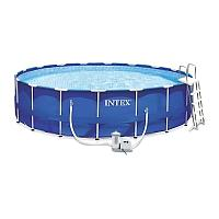 Каркасный бассейн Intex 549х122см Metal Frame Pool