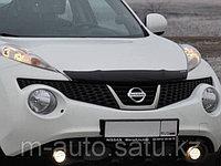 Мухобойка/дефлектор капота на Nissan Juke/Ниссан Жук 2011-, фото 1