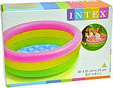 Надувной бассейн (86x25 см) Intex, фото 2