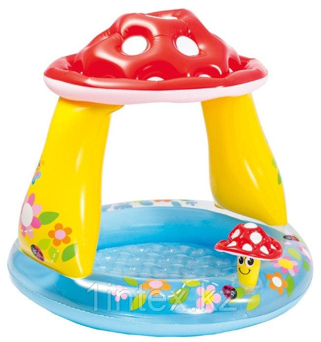 "Детский надувной мини-бассейн ""Грибок"" 102Х89 СМ Intex (Mushroom Baby)"
