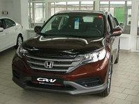 Мухобойка (дефлектор капота) на Honda CR-V(хонда цр-в) 2012-, фото 1