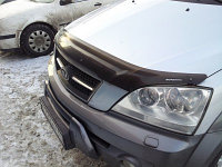 Мухобойка /дефлектор капота на Kia Sorento (киа соренто) 2003-2008