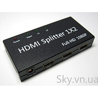 HDMI Splitter 2 port (поддержка 3D)