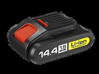 Аккумулятор 14.4В Li-lon для шуруповерта ЗУБР, серии ДА-14.4-2-Ли