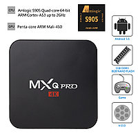 TV Box MXQ Pro (Amlogic S905 2.0GHz Quad-Core / RAM 1Gb / ROM 8Gb / Android 5.1.1) Wi-Fi 2.4Ghz / H.265/HEVC /
