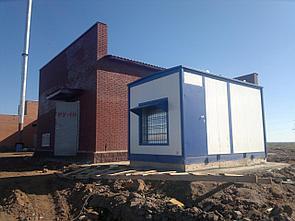 Блочно-модульное здание (кожух) из сэндвич-панелей для дизель-генераторных установок