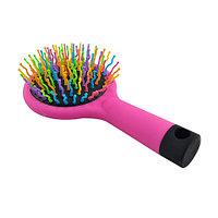 Расческа массажная для придания объема Eyecandy Rainbow Volume Brush [Medium] (Розовый)