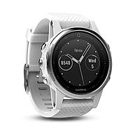 Garmin Fēnix 5S Silver with black band - универсальные часы