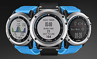 Garmin Fēnix 5X Sapphire - Slate grey with black band - универсальные часы