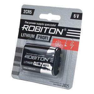 Батарейка 2CR5 - Robiton Profi 6v
