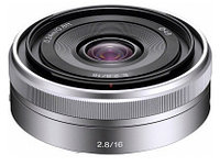 Объектив SEL-16F28 16mm f/2.8 Wide-Angle Alpha E-Mount Lens