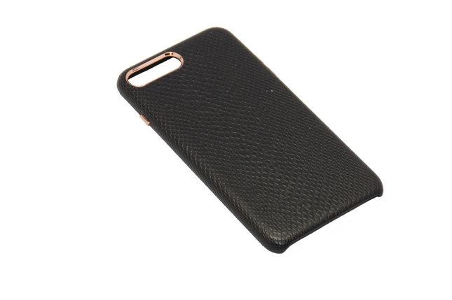 Чехол OCCA Lizard Black кожаный iPhone 7, фото 2