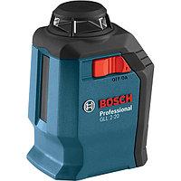 Линейный лазерный нивелир (построитель плоскостей) GLL 2-20  0601063J00