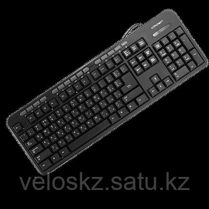 Клавиатура проводная Crown CMK-300 каз/рус/англ USB, фото 2