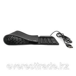 Клавиатура проводная Crown CMK-6002 USB силиконовая, фото 2