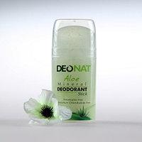 Дезодорант DEONAT СRYSTALDEO Кристалл - Деонат DEONAT с соком Алое зеленый, Pushup 100гр