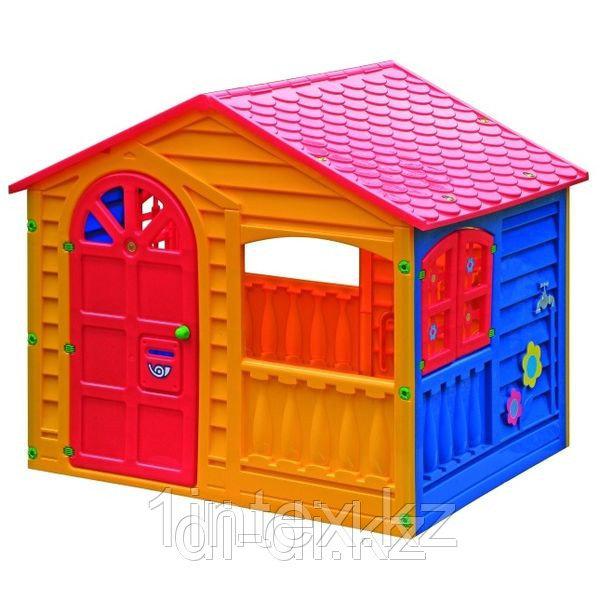 """Детский пластиковый домик """"Игровой"""" Marian Plast"""