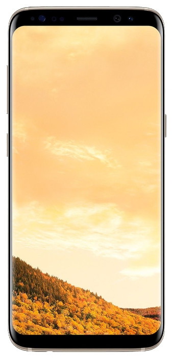 Смартфон Samsung Galaxy S8-64GB PLUS+Gold(Новинка)