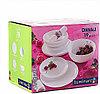 DIWALI  Сервиз столовый Luminarc белый 19 предметов, фото 4