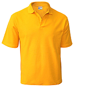 Поло (футболка) желтая