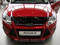 Мухобойка (дефлектор капота) на Ford Focus/Форд Фокус III