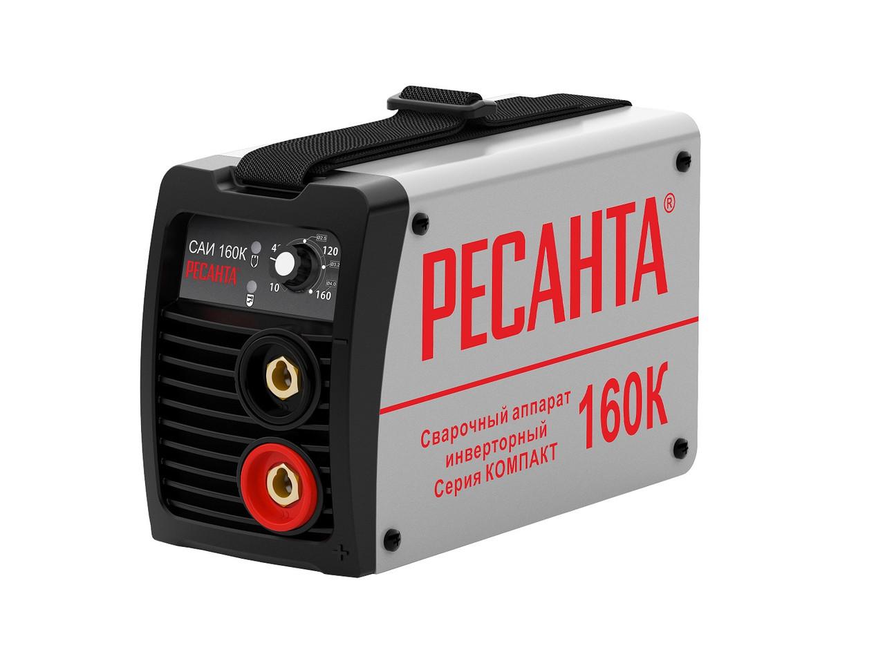 Сварочный аппарат инверторный Ресанта САИ160К