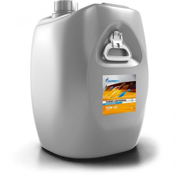 Масло Газпром Turbo Universal 15W-40 дизельное 50л.