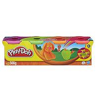 Набор пластилина из 4-х банок Play-Doh (Плэй до) неоновые цвета 22114, фото 1