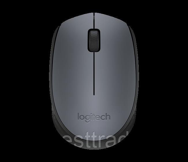 Мышь беспроводная Logitech M170 серый
