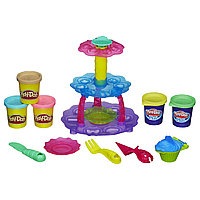 Play Doh Набор пластилина Башня из кексов, фото 1